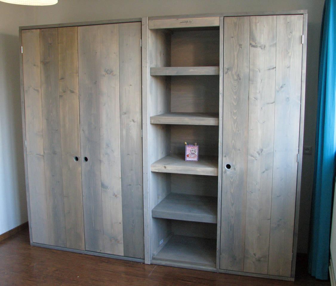 Badkamerkast Hout: Badkamerkast teak blank hoog historie meubelen ...
